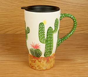Bridgewater Cactus Travel Mug