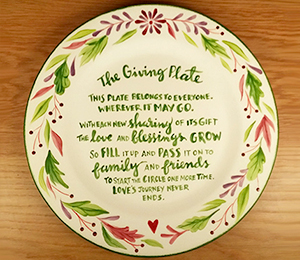 Bridgewater The Giving Plate