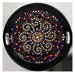Bridgewater Mosaic Mandala Tray