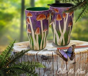 Bridgewater Mushroom Mugs
