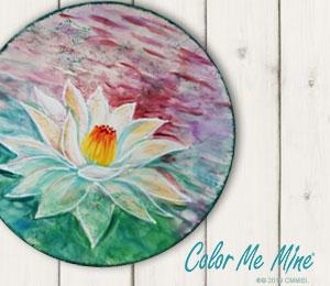 Bridgewater Lotus Flower Plate