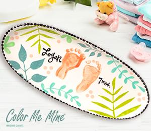Bridgewater Tropical Baby Tray