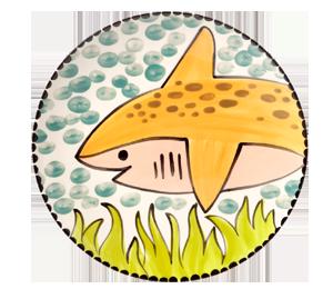 Bridgewater Happy Shark Plate