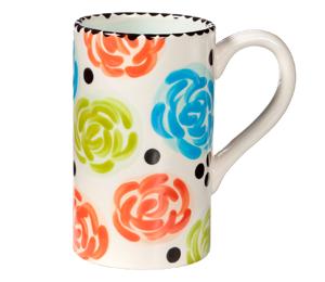 Bridgewater Simple Floral Mug