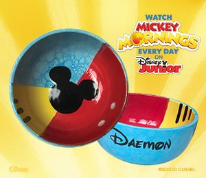 Bridgewater Mickey's Bubble Bowl